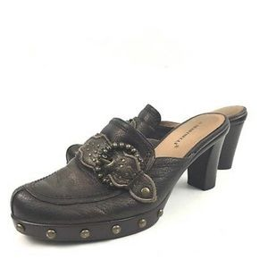 A. Marinelli | Studded Clogs NWOT
